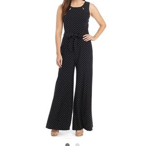 gabby skye sleeveless jumpsuit